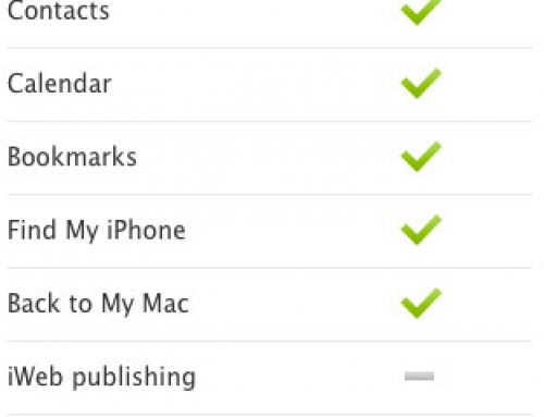 MobileMe FAQ for the iCloud transition