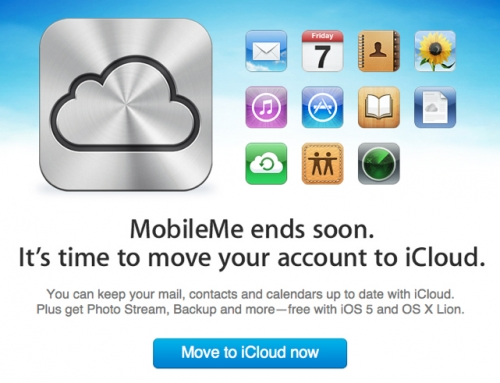 Goodbye, MobileMe – transition to iCloud with MacWorks