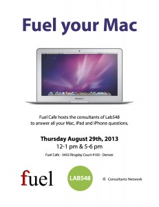 Flyer - Fuel your Mac