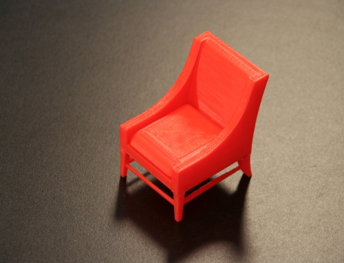 3D Print: Modern Slipper Chair