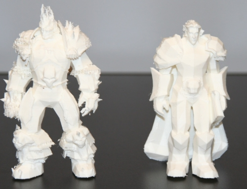 3D Print: World of Warcraft Characters